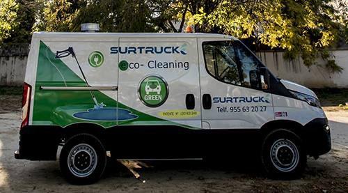 Vehículo eléctrico de limpieza Eco-cleaning